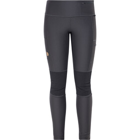 Fjällräven Abisko Trekking Leggings Dames, dark grey
